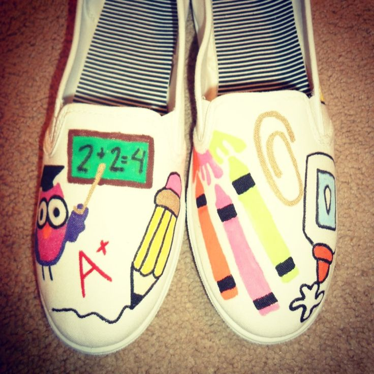 @Amy Lees how cute are these!!! Teacher shoes