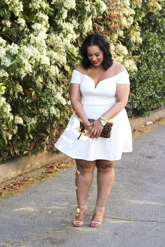 Short Sleeved Plus Size Dresses