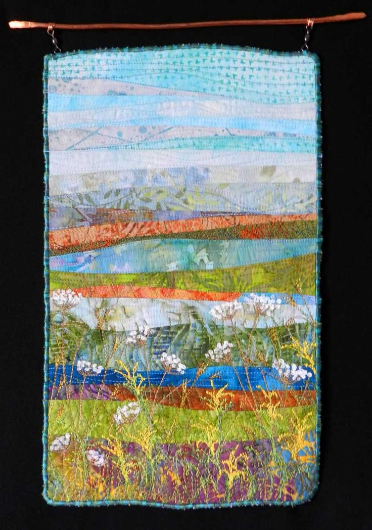 Landscape Art Quilts Wall Hangings