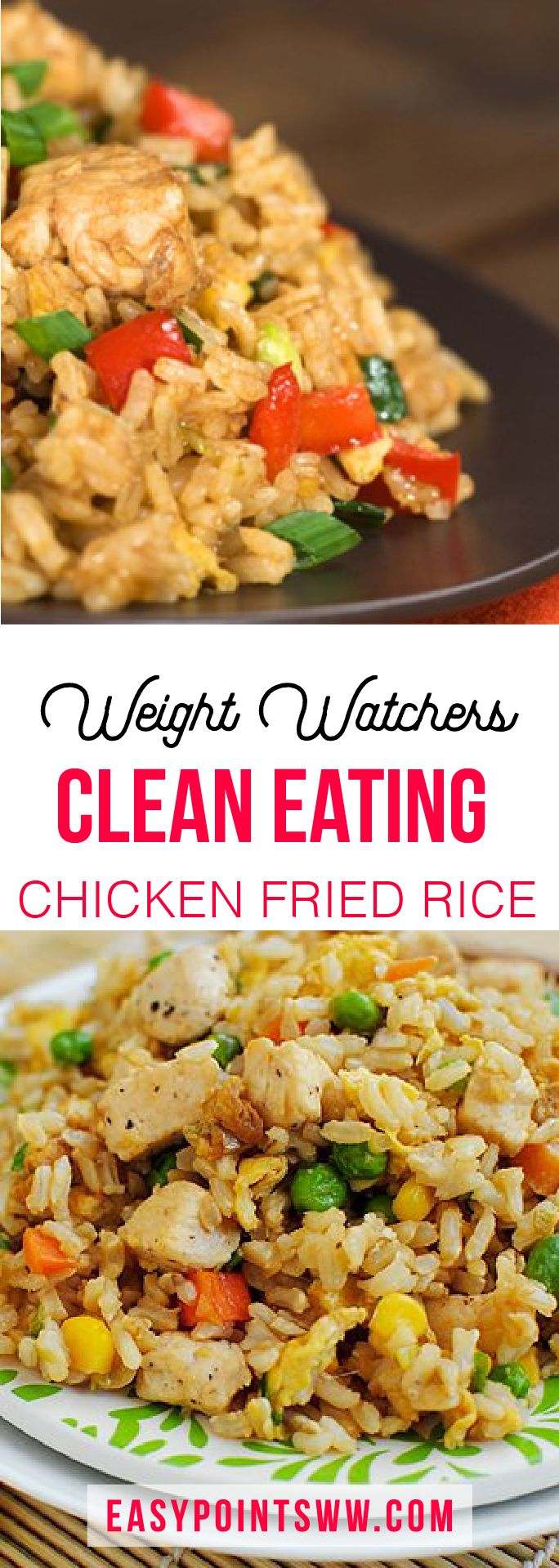 Weight Watchers Chicken Fried Rice ♥