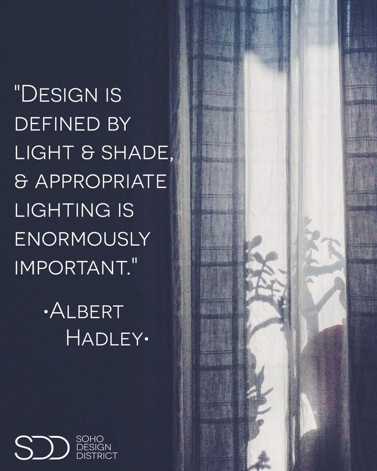 """""""Design is defined by light & shade & appropriate lighting is enormously important.""""  Albert Hadley . . As we are near the shortest day of the year (or longest if you're in the Southern Hemisphere) here is a bit of lighting-design-inspiration from a masterful composer of interiors Albert Hadley. How is your space posed to welcome the longer winter evenings? . .  by @my_my_magic remixed by @sohodesigndistrict . . . . #sohodesigndistrict #sohonyc #soho #alberthadley #designfurniture…"""