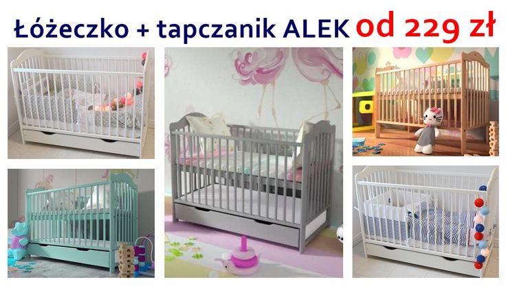 Genialne łóżeczko dziecięce z funkcją tapczanika ALEK - mamaania.com.pl od 229 zł