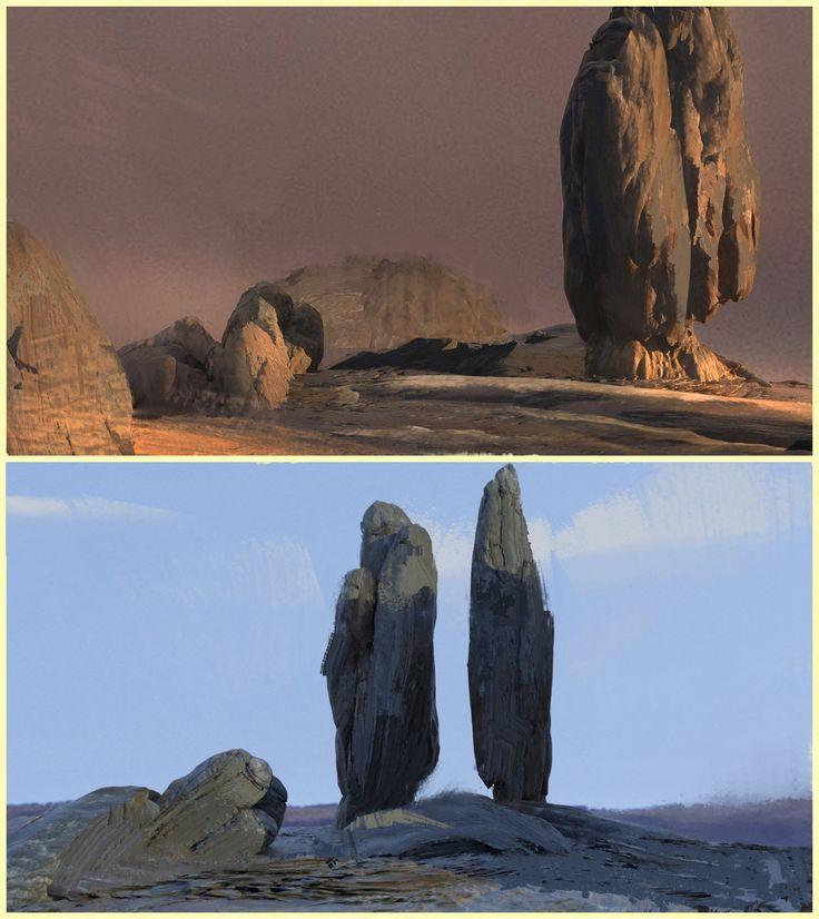 ArtStation - We found a Titan skull., Pablo Dominguez