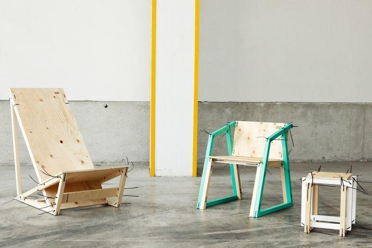 Familie Binderist eine wachsende Möbelfamilie, die ursprünglich aus einem Hocker, einem Sessel und einer Liege bestand und mittlerweile auch Tischchen, Bänke, Strandkörbe oder Nachtkästchen umfasst. Die Entwürfe der Familie Binder sind frei und offen, das heißt, sie dürfen nicht nur nachgebaut, sondern auch modifiziert, öffentlich verfügbar gemacht und monetarisiert werden (unter der Lizenz CC BY-SA-2.0). …