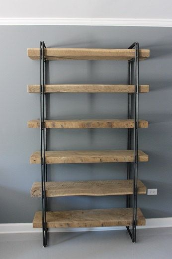 17 Best Ideas About Reclaimed Wood Bookcase On Pinterest