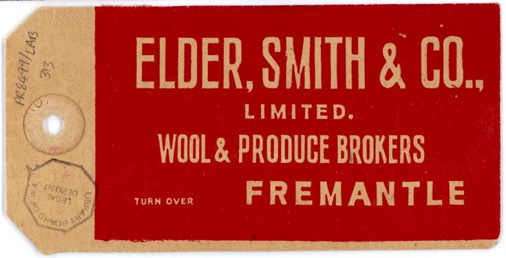 PR8499/LAB/313 Elder, Smith & Co. Limited Wool & Produce http://encore.slwa.wa.gov.au/iii/encore/record/C__Rb2948424(Click to Start Zoom)