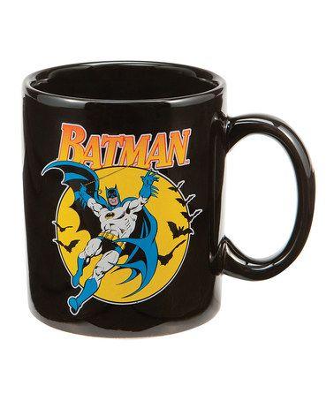 Take a look at this Black Batman Mug by DC Comics on #zulily today!