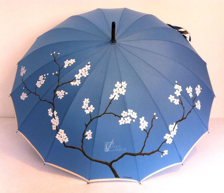 paraguas originales pintados a mano - Buscar con Google