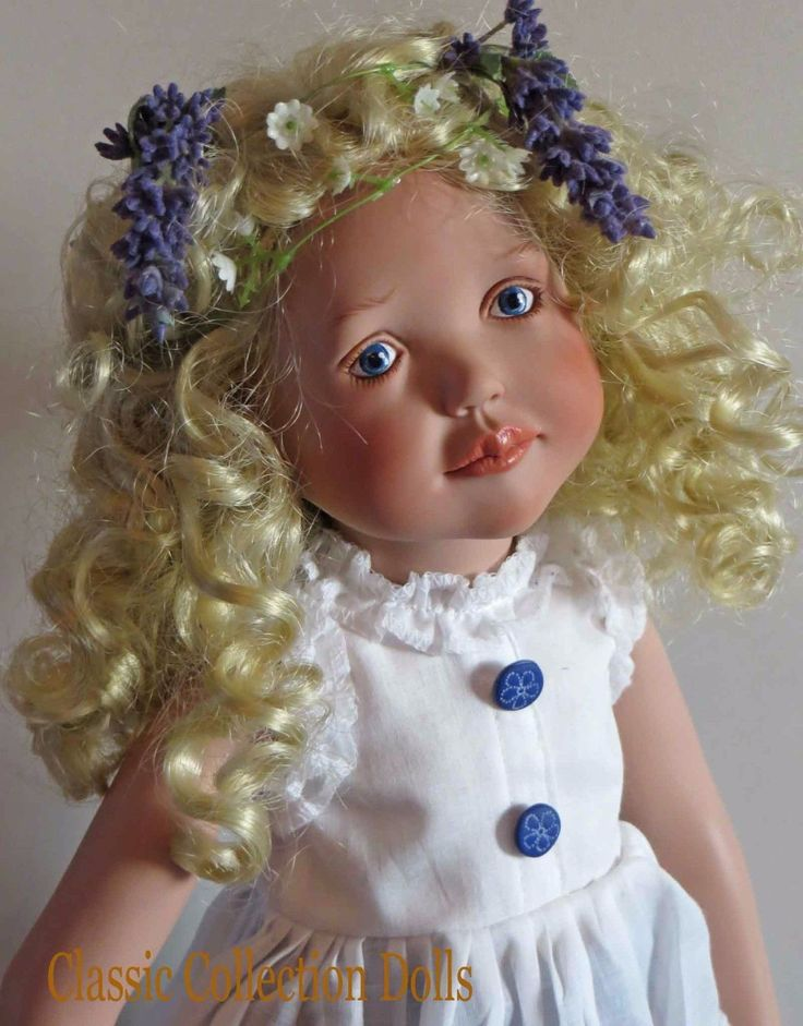 """""""LILA"""" JUNIOR DOLL BY ZWERGNASE- 2005 COLLECTION - 20""""- BRAND NEW- IN STOCK"""