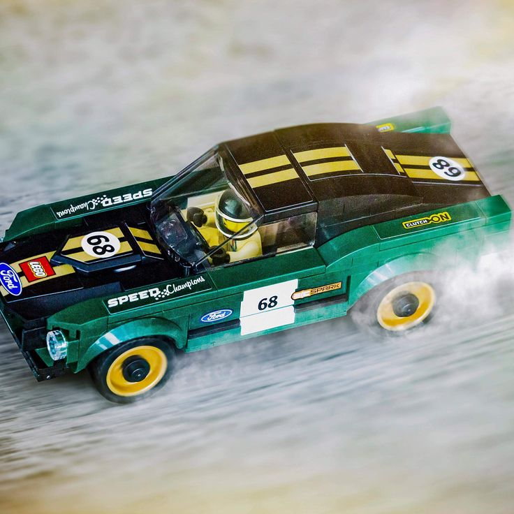 "Instagram: ""This year marks the 50th anniversary of the iconic Ford Mustang 1968 car and LEGO Speed Champions…"""
