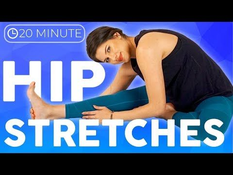 20 minute deep hip opening yoga stretches  youtube in
