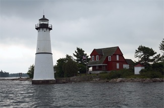 Rock Island Lighthouse  Thousand Islands, St. Lawrence River, NY