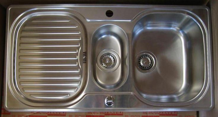 FRANKE Compact Spüle 96,5 x 50 cm Küchenspüle Einbauspüle EDELSTAHL