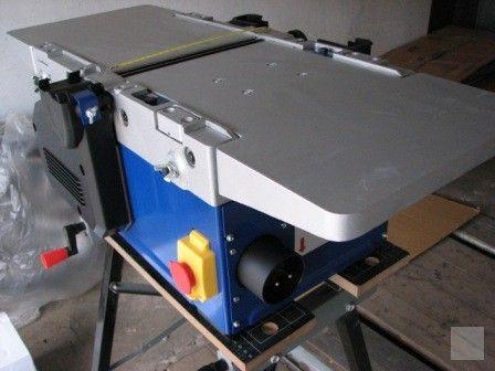 hoblovka spilou 250 mm, Stroje na dřevo