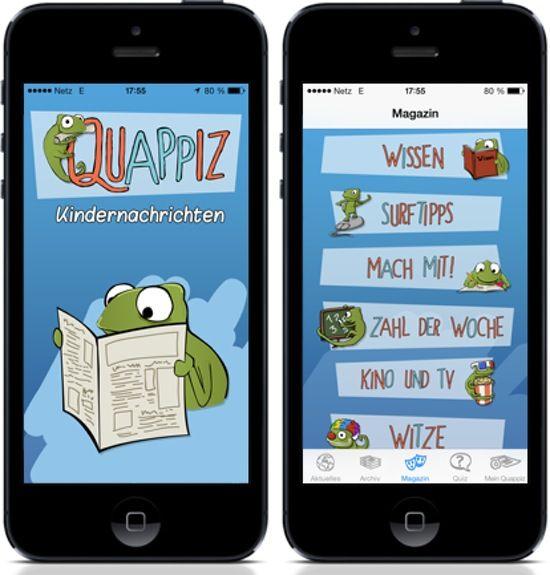Mit QUAPPIZ erfahren Kinder jeden Tag, was auf der Welt passiert. QUAPPIZ heißt die neue App und steht für Kindernachrichten und Quiz