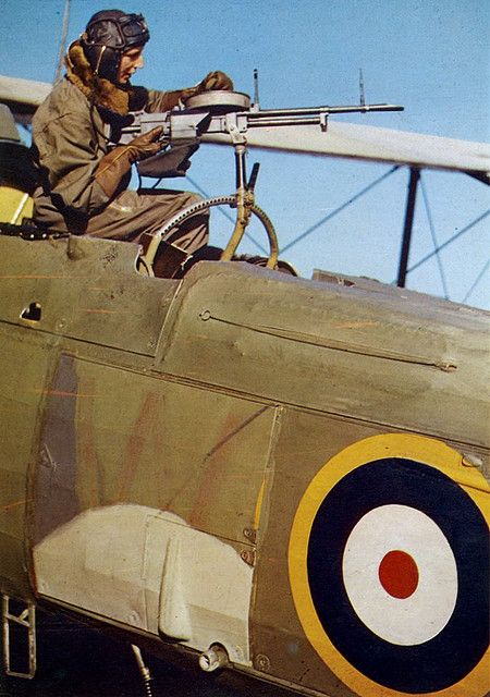 Fairey Swordfish Gunner - World War 2