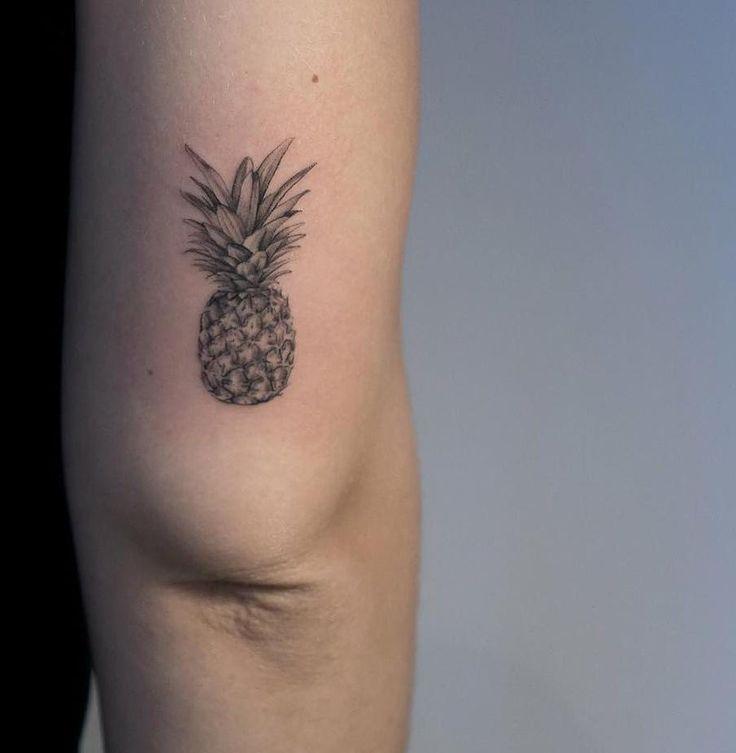 Small #pineapple #tattoo by @emmabundonis_tattoo · @through_my_third_eye_tattoo London