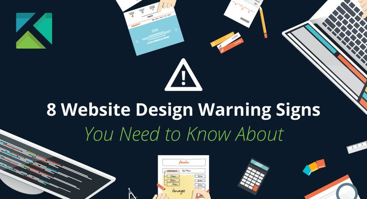 Whether you're getting a website or currently own one, keep an eye out for these #website #design warning signs.