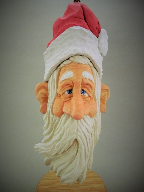Best images about santa carvings on pinterest