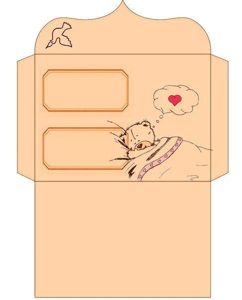 Шаблоны конвертов фото #1