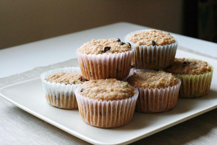 Vegan, Almond Quinoa Muffins