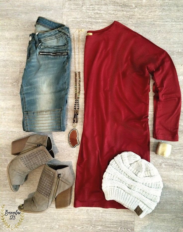 Piko Tunic - Wine Red