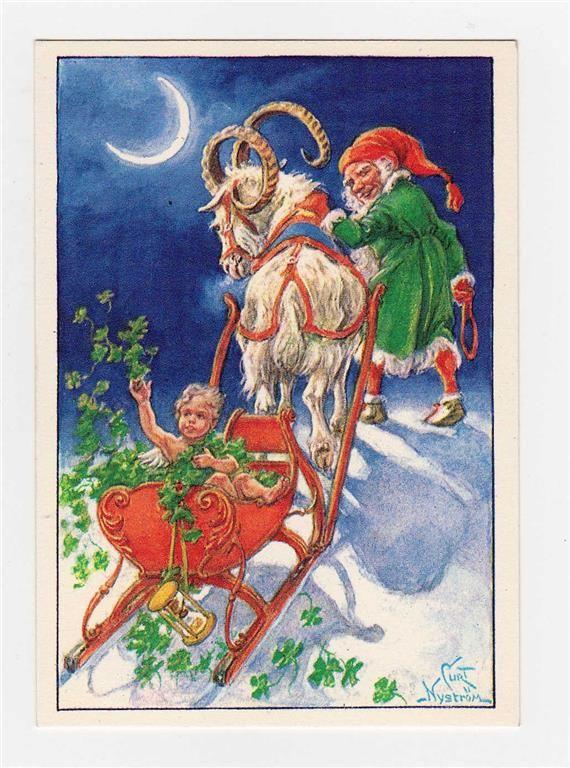 gammalt vykort av Curt Nyström