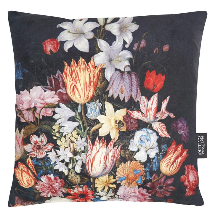 A Still Life of Flowers Cushion, The National gallery