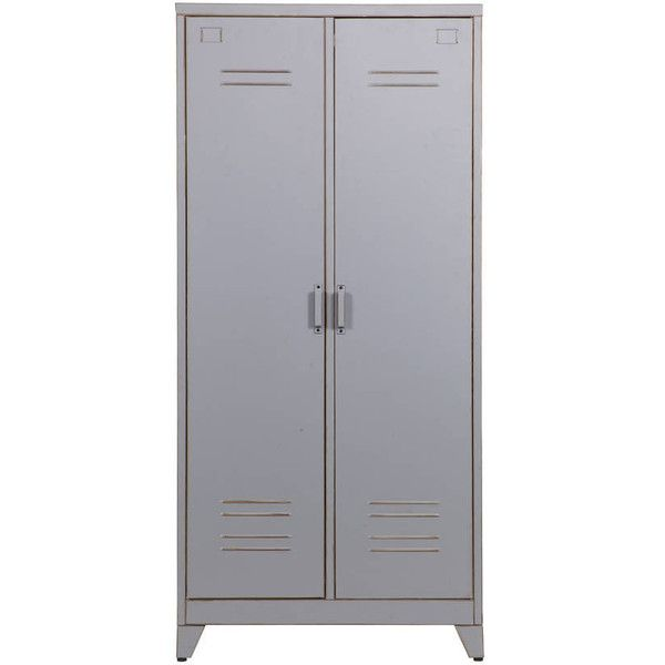 Superior Idyll Home Ltd Metal Locker Cabinet ($510) ❤ Liked On Polyvore Featuring  Home,