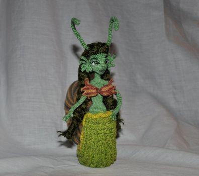 Doll amigurumi Snail (19) by Faurik