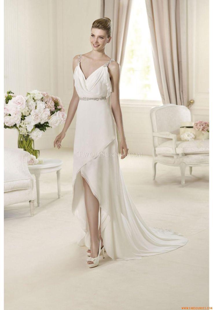 188 best robe de mari e simple et chic images on pinterest short wedding gowns wedding frocks. Black Bedroom Furniture Sets. Home Design Ideas