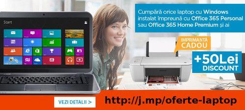 Cumpara un laptop cu Windows preinstalat si ai imprimanta cadou