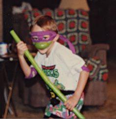 From WallCrawlinHero...Not-quite-Teenage Mutant Ninja Turtle!: Photo