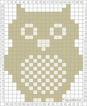Ravelry: Owl Crochet Chart pattern by Agnes Barton