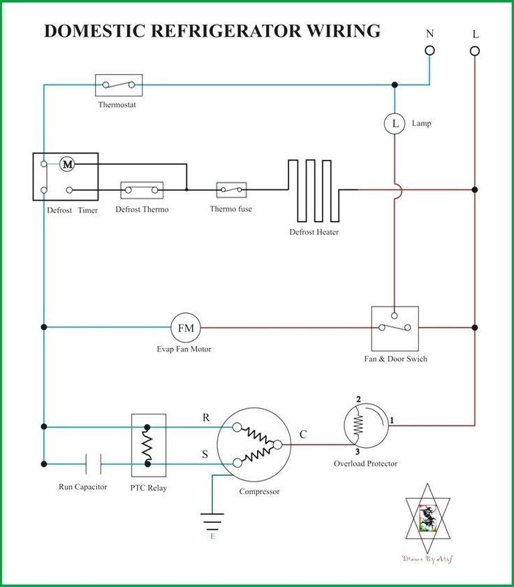 Diagram Electrical Circuit, Ge Refrigerator Wiring Diagram