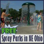 Spraygrounds & Spray Parks Northeast Ohio (they are not all free)