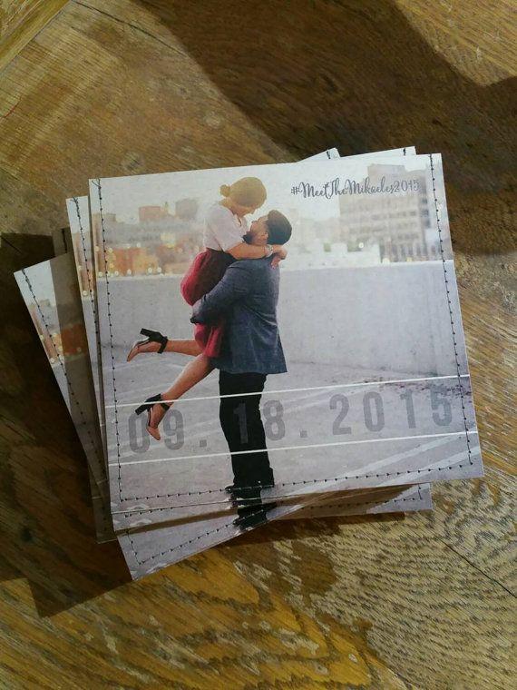 Personalized cd sleeve wedding favor! Such an romantic wedding favor idea