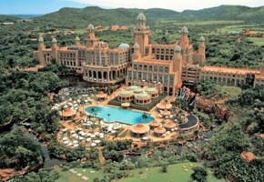 The Palace of the Lost City in Sun City, outside Rustenburg, South Africa.
