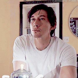 hardyness Adam Driver + Paterson waking up late  But some day you wake up and feel like you need love, you can't see your smile, your eyes not the way that I do.  Don't ever feel worthless, just know that you're perfect, and I'd change the world before I change a thing about you.