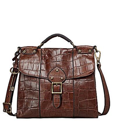 Fossil Vintage Revival Flap Bag #Dillards