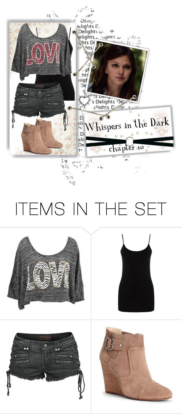 """""""Whispers in the Dark (chapter 10 set)"""" by sagelondyn ❤ liked on Polyvore featuring art, PrettyLittleLiars, pll and fanfiction"""