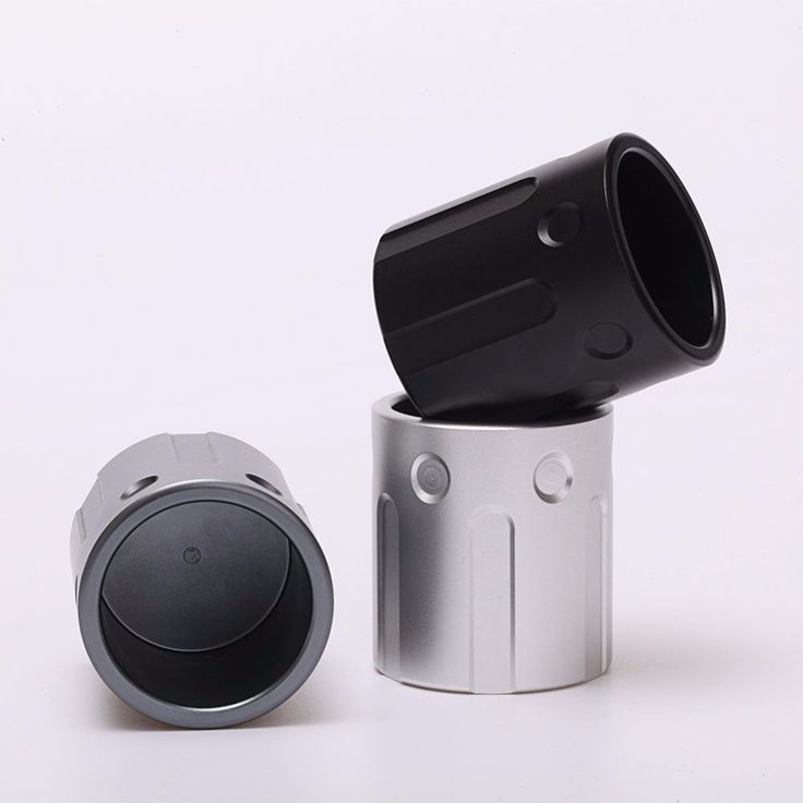 FREE Shipping Colour: Black, Grey, Silver Can be used during indoor and outdoor activities and sports  Design: Revolver-shaped, cylindrical, fashionable style Material: Advanced Aluminium Alloy Ease: Heat-insulated and easy to hold, clean and carry Safe: Harmless, natural colour Creative mini gift for people who love outdoor sports and travelling!