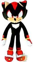 """Sonic Boom Small 7"""""""" Plush Toy - Shadow"""