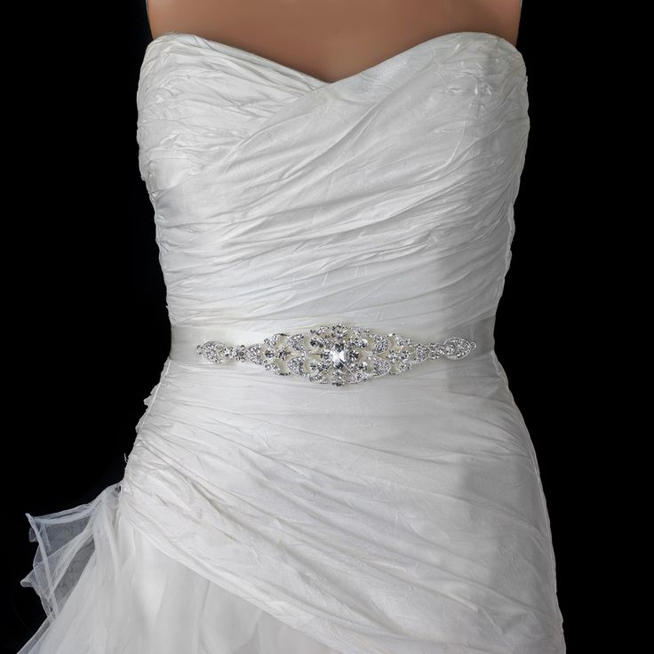 25 best ideas about bridal belts on pinterest bride for Rhinestone belts for wedding dresses