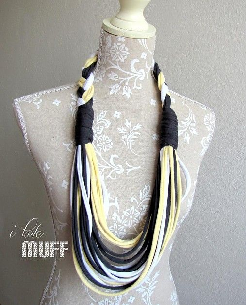 spaghetti scarf braid