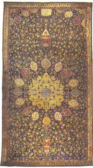 Het beroemde Ardebil tapijt wat bezichtigd kan worden in Londen. In de 16e eeuw, onder de bescherming van de keizers, werd de kunst van het tapijtmaken ontwikkeld in zowel Perzië als India zowel technisch als artistiek. Bijvoorbeeld in de keizerlijke hofwerkplaatsen. Uit deze periode stamt één van mooiste, wellicht het meest beroemde tapijt in de wereld, hetwat te zien is in hetVictoria en Albert Museumin Londen. Het meet 534x1152 cm en is waarschijnlijk gemaakt in de stad Kashan in…