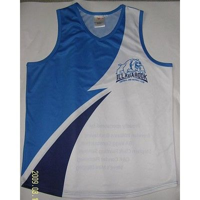 Sports Customised Singlet Adults incl Dye Sublimation Min 25 - Clothing - Sports Uniforms - Dye Sublimated Sportswear - PMX005 - Best Value Promotional items including Promotional Merchandise, Printed T shirts, Promotional Mugs, Promotional Clothing and Corporate Gifts from PROMOSXCHAGE - Melbourne, Sydney, Brisbane - Call 1800 PROMOS (776 667)