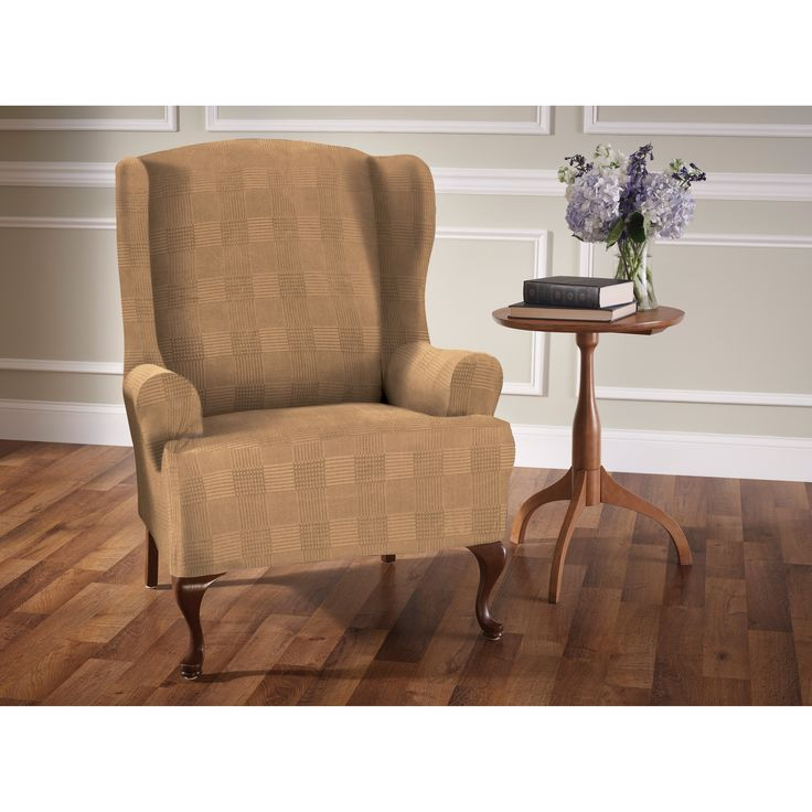 Stretch Sensations Stretch Wing Chair Slipcover