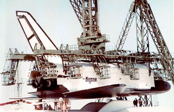 Soviet space shuttle Buran