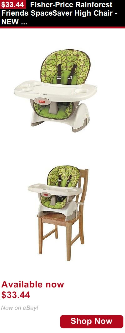 Baby High Chairs: Fisher-Price Rainforest Friends Spacesaver High Chair - New Freeshipping BUY IT NOW ONLY: $33.44